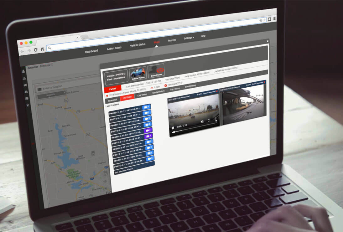 Truck Dash Cam Software screenshot
