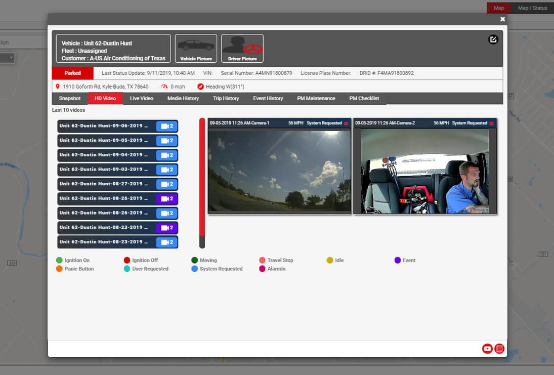 Fleet Management Software screenshot