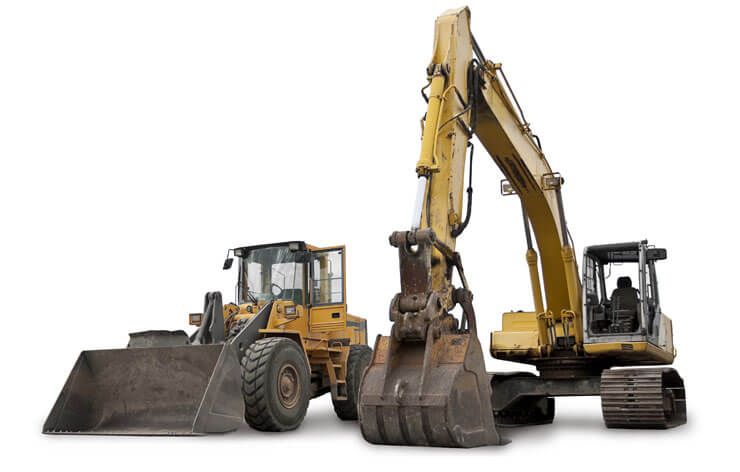 Construction Equipment with Tracking Devices